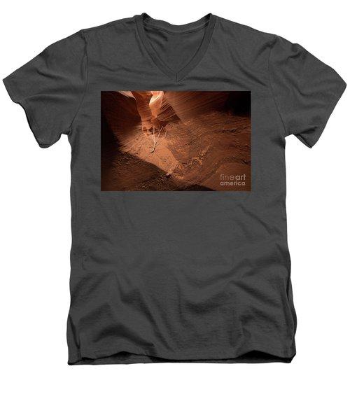Deep Inside Antelope Canyon Men's V-Neck T-Shirt