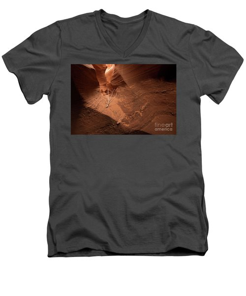 Deep Inside Antelope Canyon Men's V-Neck T-Shirt