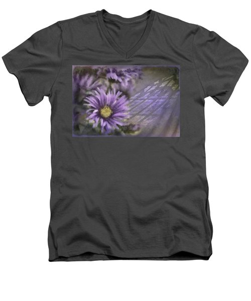Deep Purple Men's V-Neck T-Shirt