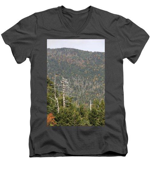 Deeper Into Forest Men's V-Neck T-Shirt