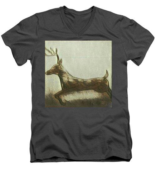 Deer Energy Men's V-Neck T-Shirt