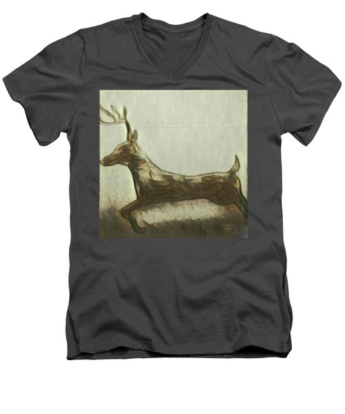 Deer Energy Men's V-Neck T-Shirt