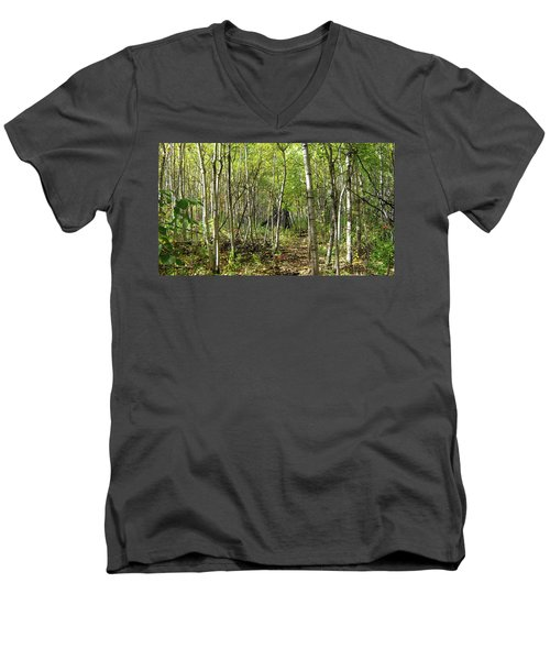 Deer Hide Men's V-Neck T-Shirt