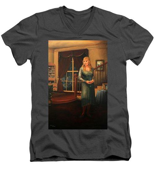 Delaina Men's V-Neck T-Shirt
