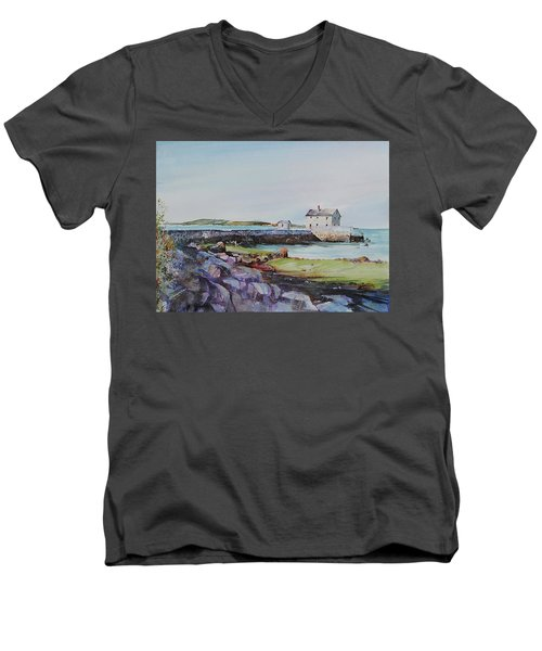 Delano's Wharf At Rock Nook Men's V-Neck T-Shirt