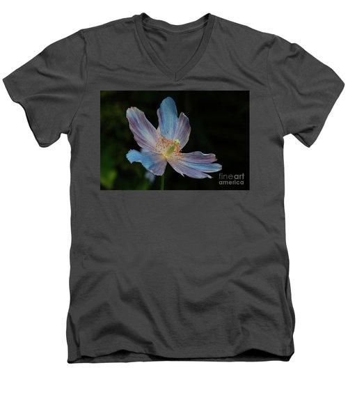 Delicate Blue Men's V-Neck T-Shirt