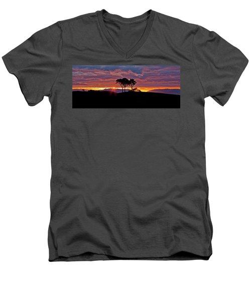 Delightful Awakenings Men's V-Neck T-Shirt by Az Jackson