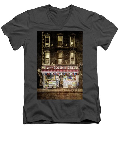 Men's V-Neck T-Shirt featuring the photograph Delightful by Russell Styles