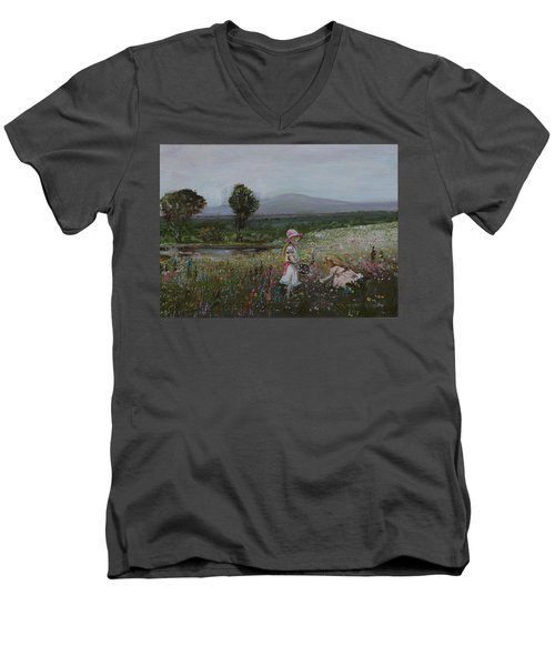 Delights Of Spring - Lmj Men's V-Neck T-Shirt