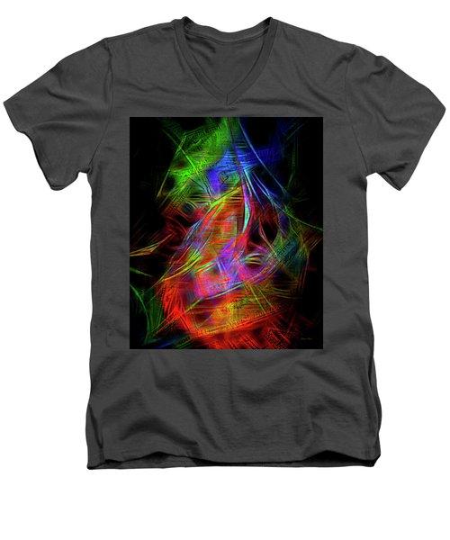 Delusional Dollars  Men's V-Neck T-Shirt