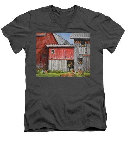 Deluxe Accommodations Men's V-Neck T-Shirt
