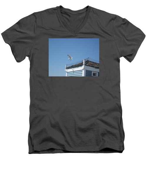 Denied Men's V-Neck T-Shirt