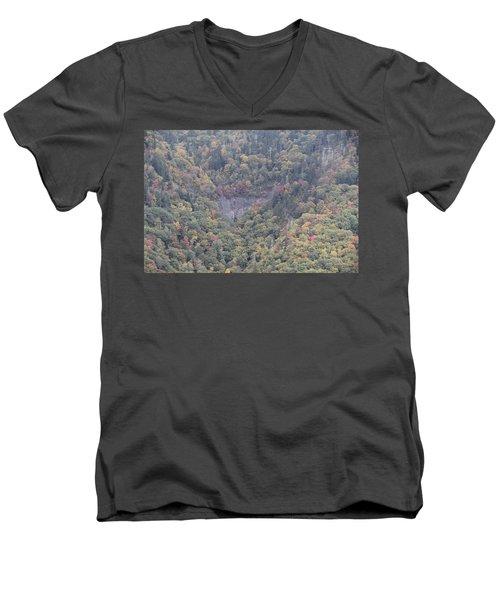 Dense Woods Men's V-Neck T-Shirt