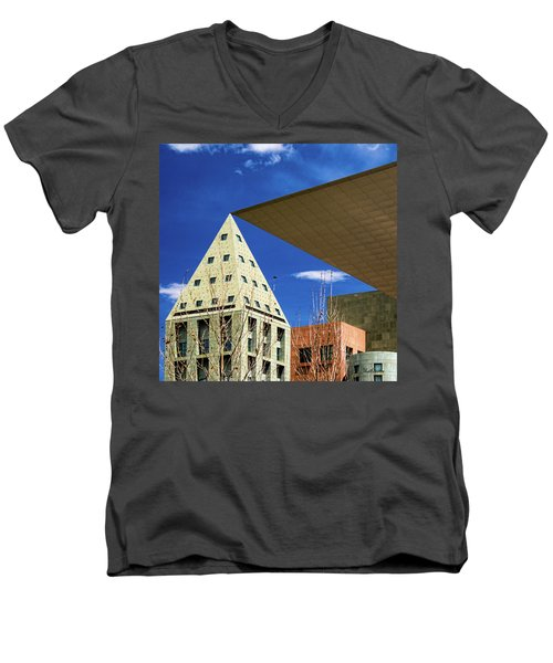 Denver Urban Geometry Men's V-Neck T-Shirt