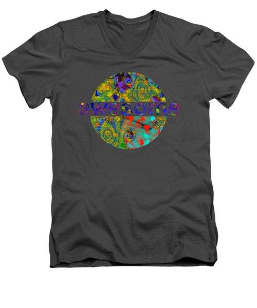 Departure Of The Clowns Men's V-Neck T-Shirt