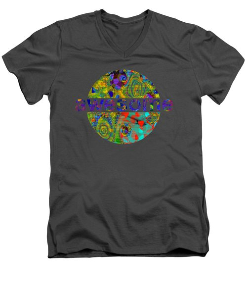 Departure Of The Clowns Men's V-Neck T-Shirt