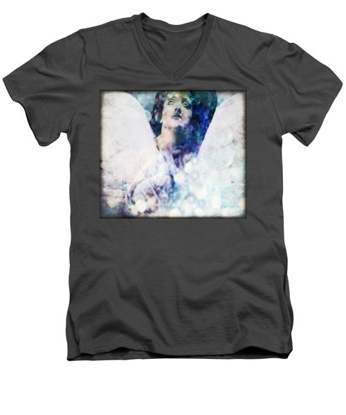 Depression Angel Men's V-Neck T-Shirt