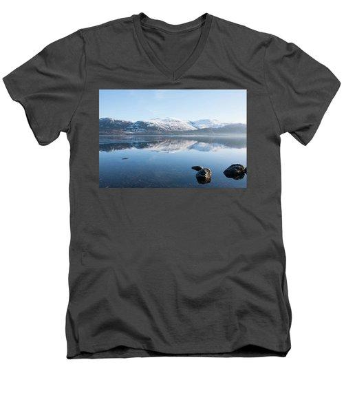 Derwentwater Rocks Men's V-Neck T-Shirt