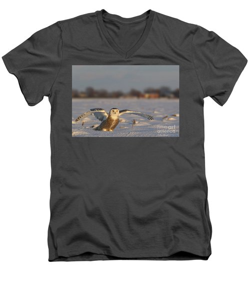 Des Ailes D'ange. Men's V-Neck T-Shirt