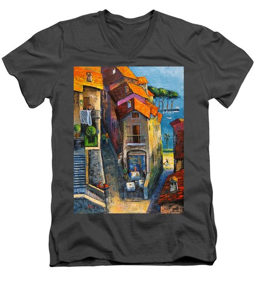 Desenzano Del Garda Men's V-Neck T-Shirt