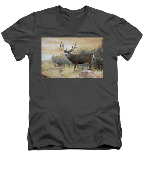 Desert Beast Men's V-Neck T-Shirt