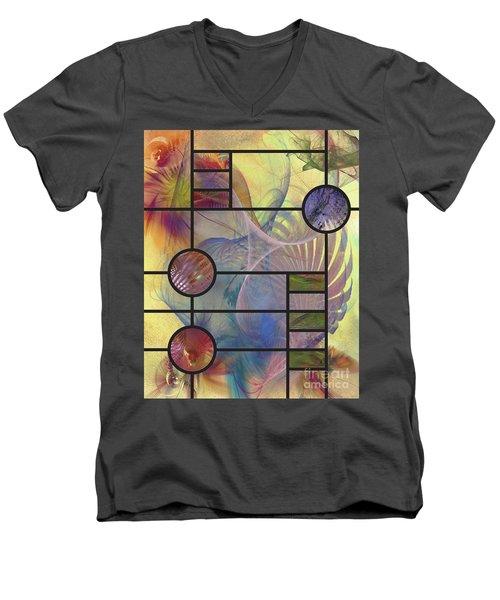 Desert Blossoms Men's V-Neck T-Shirt