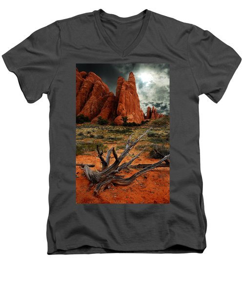 Desert Floor Men's V-Neck T-Shirt
