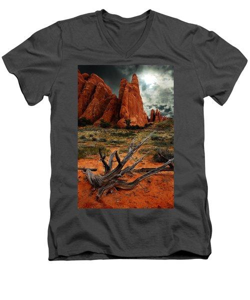 Desert Floor Men's V-Neck T-Shirt