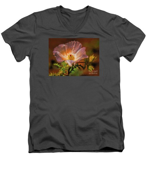 Desert Flower  ... Men's V-Neck T-Shirt