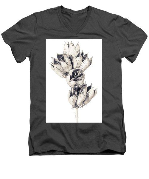 Desert Flower Men's V-Neck T-Shirt