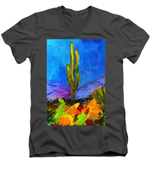 Desert Giant Men's V-Neck T-Shirt