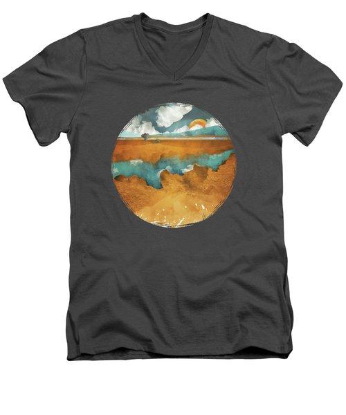 Desert Lake Men's V-Neck T-Shirt