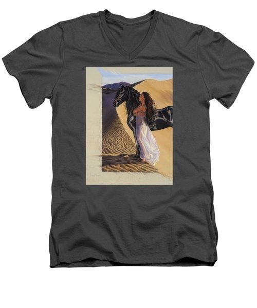 Desert Of Inspiration Men's V-Neck T-Shirt