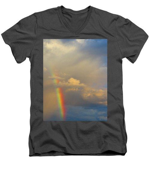 Desert Rainbow Men's V-Neck T-Shirt