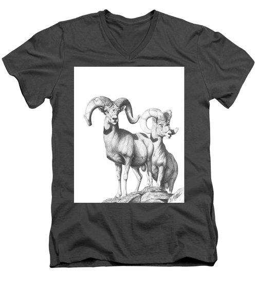 Desert Sentinels Men's V-Neck T-Shirt