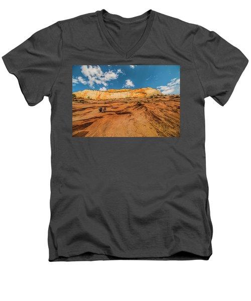 Desert Solitaire With A Friend Men's V-Neck T-Shirt