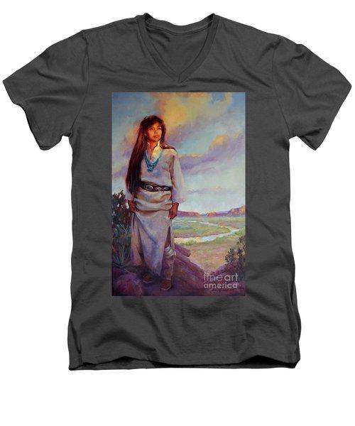 Desert Song Men's V-Neck T-Shirt