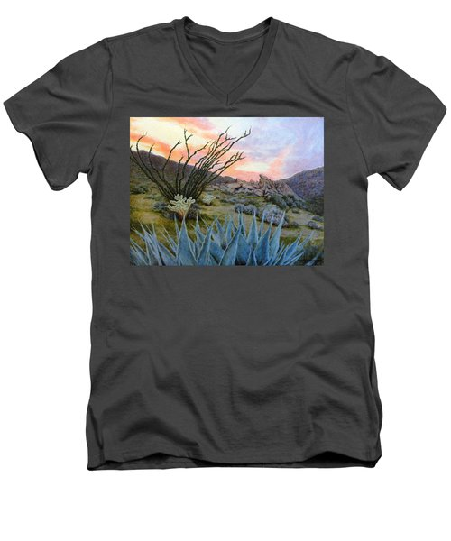 Desert Spirits Men's V-Neck T-Shirt