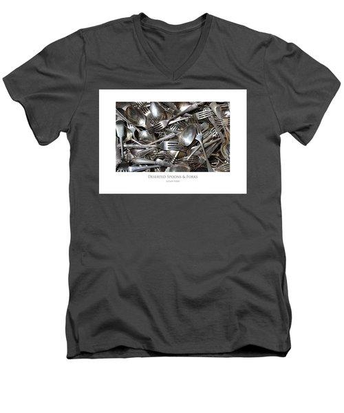 Deserted Spoons And Forkes Men's V-Neck T-Shirt