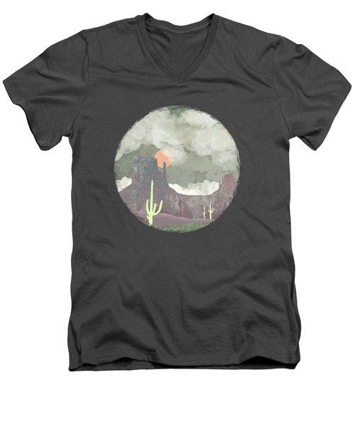 Desertscape Men's V-Neck T-Shirt