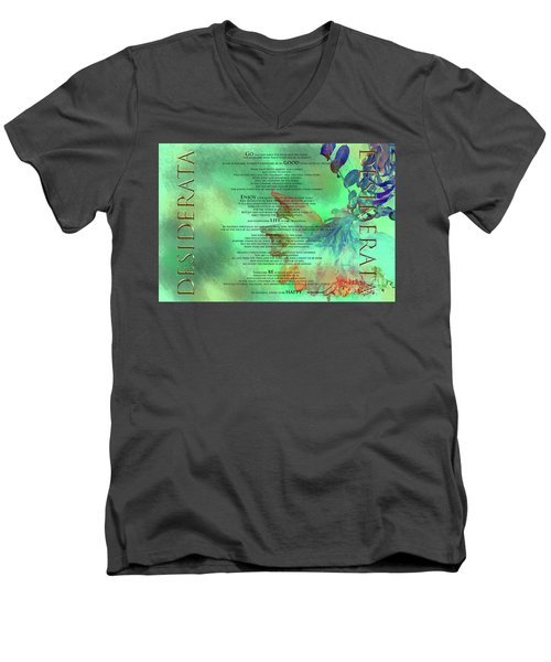 Desiderata #2 Men's V-Neck T-Shirt
