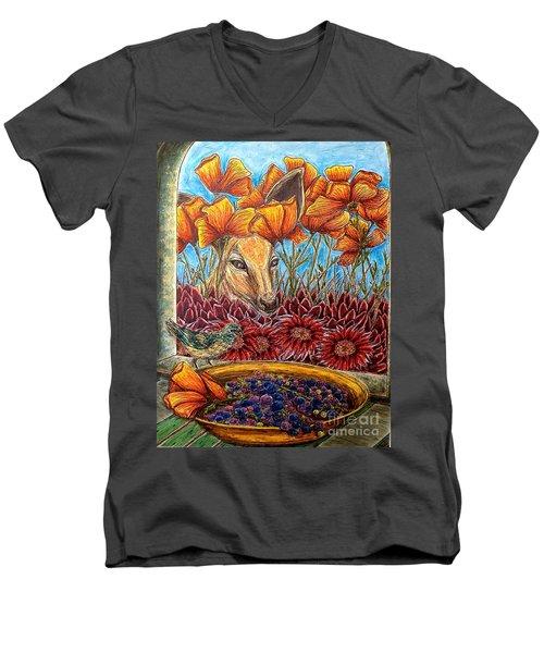Dessert Anyone? Men's V-Neck T-Shirt