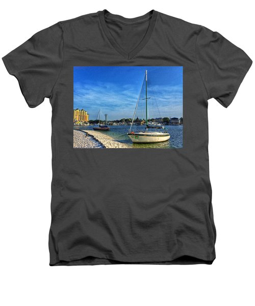 Destin Florida Men's V-Neck T-Shirt