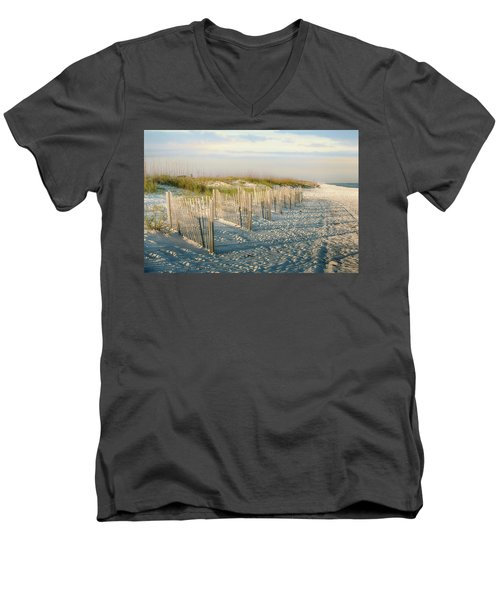 Destination Serenity Men's V-Neck T-Shirt
