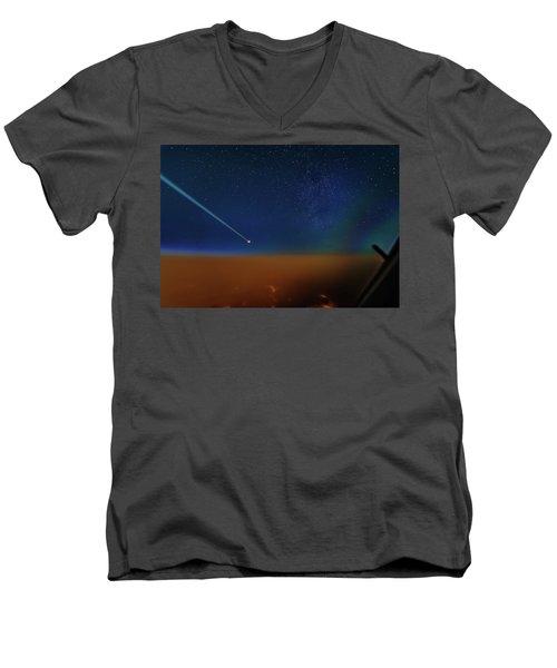 Destination Universe Men's V-Neck T-Shirt