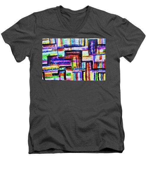 Destiny Road Men's V-Neck T-Shirt
