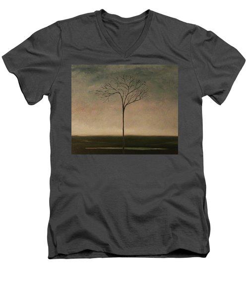 Det Lille Treet - The Little Tree Men's V-Neck T-Shirt