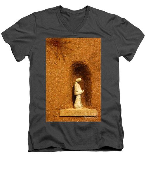 Detail Mission Of The Sun Men's V-Neck T-Shirt