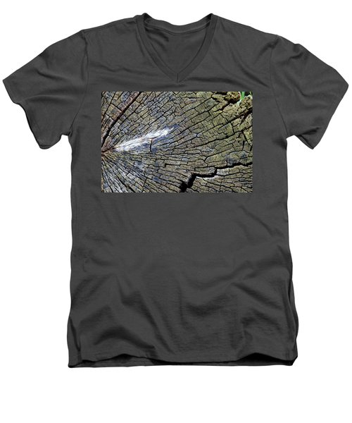 Deterioration Men's V-Neck T-Shirt