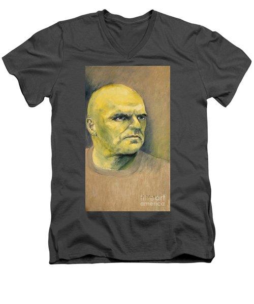 Determination / Portrait Men's V-Neck T-Shirt
